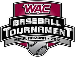 2012 Western Athletic Conference Baseball Tournament - 2012 WAC baseball tournament logo
