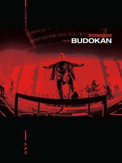 <i>20180206 Live at Budokan</i> 2018 live album / DVD by Coldrain