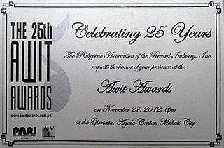 25th Awit Awards