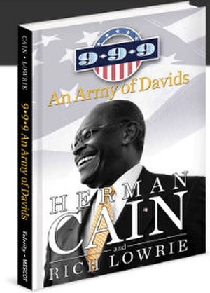 9–9–9: An Army of Davids - Image: 9 9 9 An Army of Davids (Herman Cain book) cover