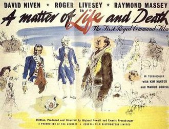 A Matter of Life and Death (film) - UK cinema poster