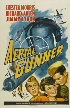 Aerial Gunner - Theatrical release poster