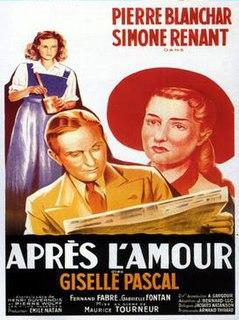 <i>After Love</i> (1948 film) 1948 film by Maurice Tourneur