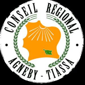 Agnéby-Tiassa - Image: Agnéby Tiassa Region (Ivory Coast) logo