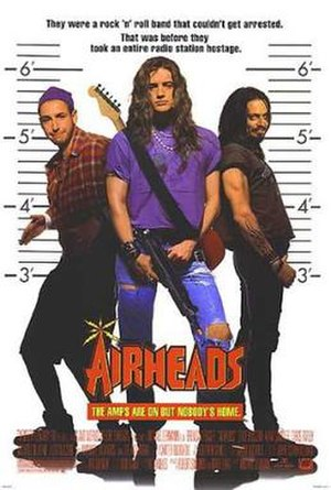 Airheads - Theatrical release poster