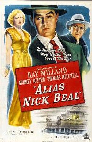 Alias Nick Beal - Image: Alias nick beal