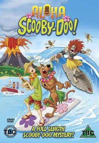 Aloha, Scooby-Doo! - U.K. DVD cover