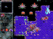 The Zerg in an early alpha build of StarCraft