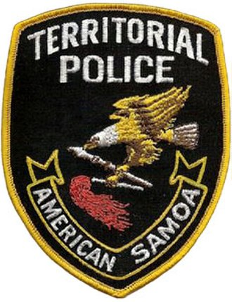 American Samoa Department of Public Safety - American Samoa Territorial Police patch