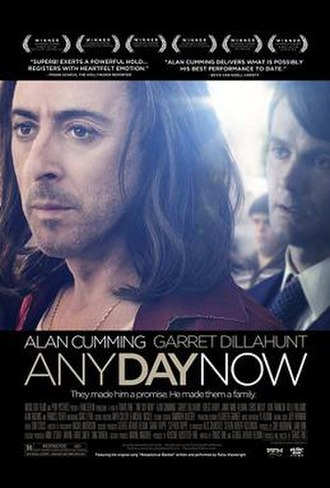 Any Day Now (2012 film) - Theatrical release poster
