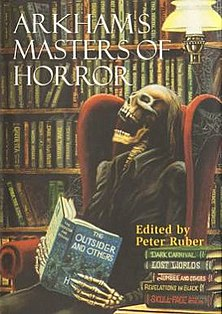 <i>Arkhams Masters of Horror</i> book by Peter Ruber