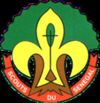 Association des Scouts et Guides du Sénégal - Badge of Scouts du Senegal