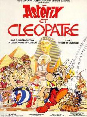Asterix and Cleopatra (film) - Image: Asterix and cleopatra french poster