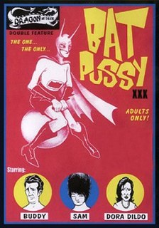 <i>Bat Pussy</i> 1970s American pornographic film by an anonymous director, released in 1996