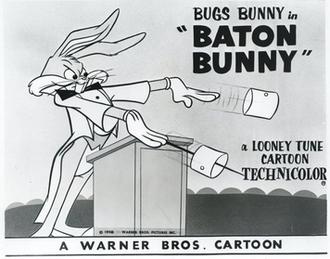 Baton Bunny - Lobby card
