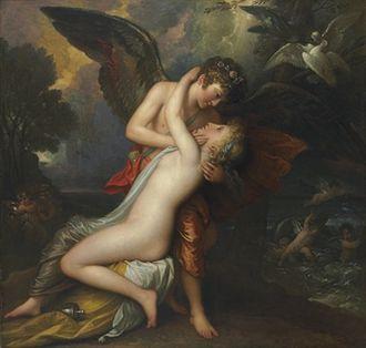 Benjamin Hick - Image: Benjamin West Cupid and Psyche