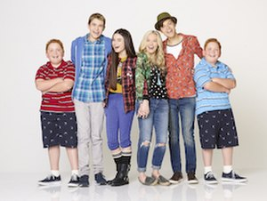 Best Friends Whenever - The main characters, from left to right: Chet, Barry, Cyd, Shelby, Naldo, and Bret.