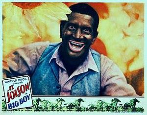 Big Boy (film) - Image: Big Boy 1930 Poster