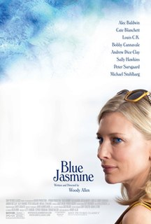<i>Blue Jasmine</i> 2013 film by Woody Allen