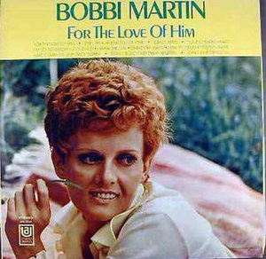 "Bobbi Martin - Bobbi Martin on the ""For The Love Of Him"" album cover"