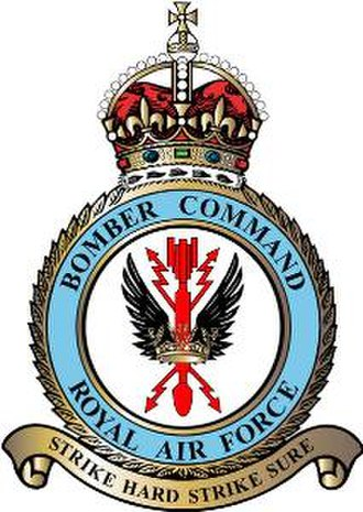 RAF Bomber Command - Bomber Command badge