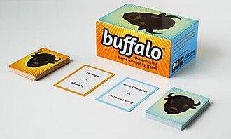 Buffalo (card game) - Buffalo game components