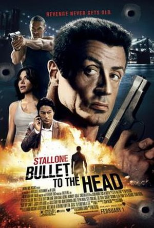Bullet to the Head - Theatrical release poster