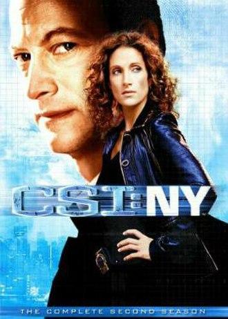 CSI: NY (season 2) - Season 2 U.S. DVD cover