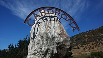 Cardrona, New Zealand - Cardrona road sign