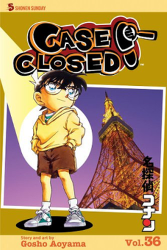 Case Closed - Case Closed volume 36 by Viz Media