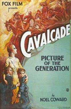 Cavalcade (1933 film) - Theatrical poster
