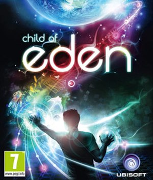 Child of Eden - European cover art