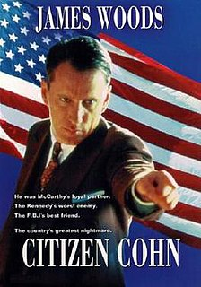 <i>Citizen Cohn</i> 1992 television film directed by Frank Pierson