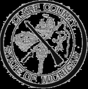 Clare County, Michigan - Image: Clare County mi seal