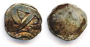 Janapada - Image: Coin of the Kuru Kingdom