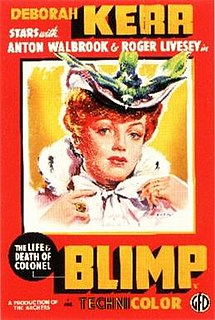 <i>The Life and Death of Colonel Blimp</i> 1943 film by Emeric Pressburger, Michael Powell