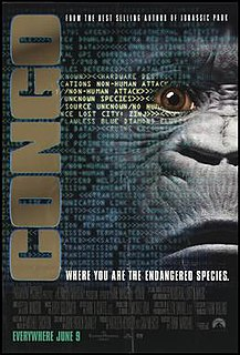 <i>Congo</i> (film) 1995 US science fiction action-adventure film by Frank Marshall