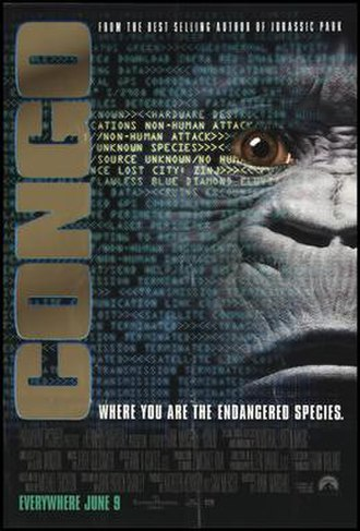 Congo (film) - Theatrical release poster