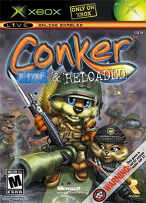 Conker: Live & Reloaded - Image: Conker Live & Reloaded Coverart