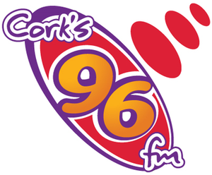 Cork's 96FM - Cork's 96FM logo used from 2009 to 2016.