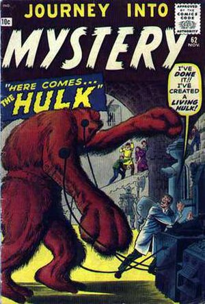 Xemnu - Image: Cover of Journey into Mystery 62 featuring Xemnu the Hulk