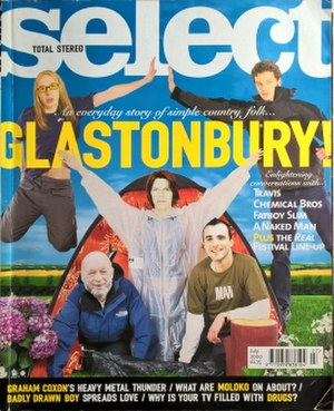 Select (magazine) - July 2000 issue
