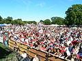 Crowd of Puerto Ricans along Paseo Boricua, in Chicago (June 2005).jpg