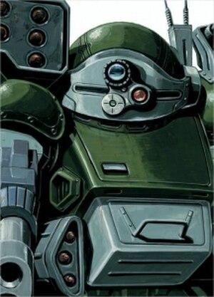 Armored Trooper Votoms - Image: DVD Box III Scopedog