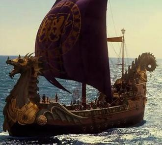 The Chronicles of Narnia: The Voyage of the Dawn Treader - The Dawn Treader as featured in the film
