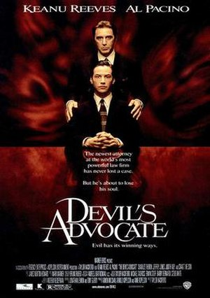 The Devil's Advocate (1997 film) - Theatrical release poster