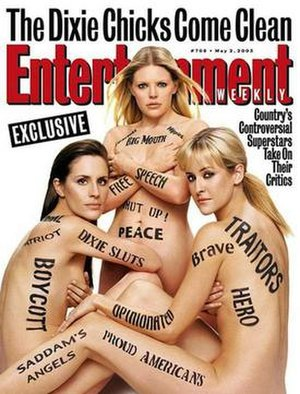 Dixie Chicks: Shut Up and Sing - Image: Dixie Chicks Entertainment Weekly