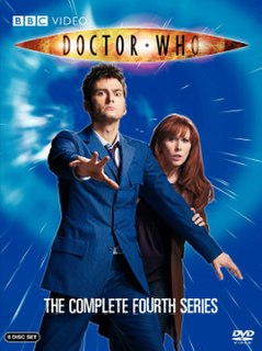 <i>Doctor Who</i> (series 4) fourth TV series of the Doctor Who (2005-) franchise