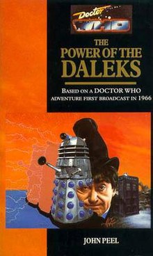 Doctor who reconstructed the power of the daleks book
