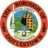 Official seal of Doylestown, Pennsylvania